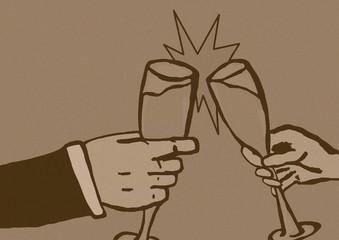 Vintage cheers
