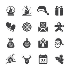 christmas icon set 3, vector eps10