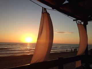 tramonto sabaudia
