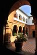 Claustro del Monasterio de la Rábida, Huelva, España