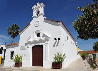 Church of Carmen, El Rompido, Huelva province, Spain