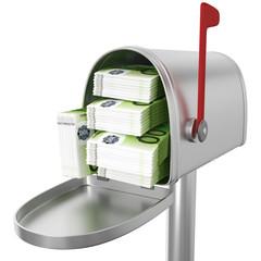 Briefkasten Geldsegen