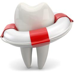 den Zahn retten