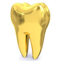 goldener Zahn