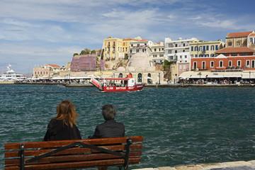 Kreta, Venezianischer Hafen von Chania.