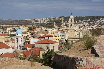 Kreta, Blick auf die Stadt Chania.