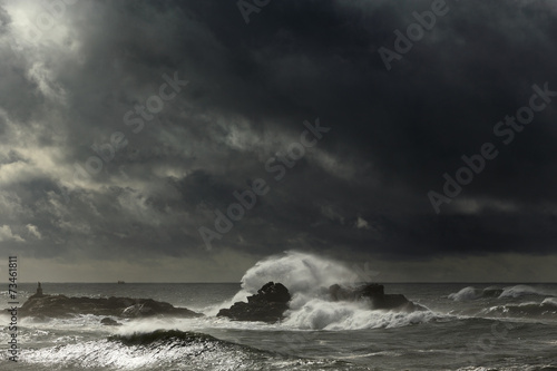 Autumn seascape