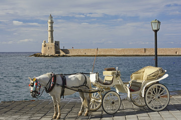 Kreta, venezianischer Leuchtturm von Chania