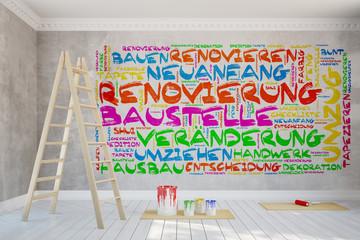 Renovierung einer Wohnung im Altbau