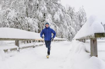 Freude am Laufsport im Winter