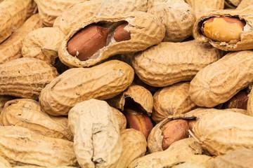 Erdnüsse formatfüllend