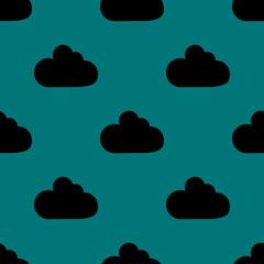 Cloud download application web icon.flat design. Seamless