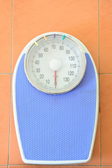 Analog weight scale isolated