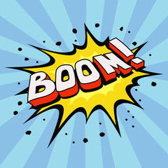 cartoon explosion