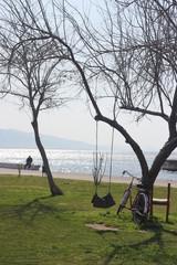 Deniz Bisiklet ve Salıncak Keyfi
