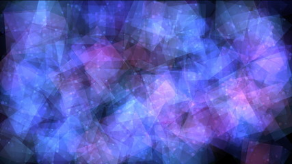 Blue violet square bokeh abstract light background
