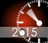 Carte Voeux 2015 rouge