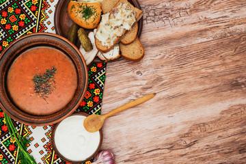 national ukrainian borscht