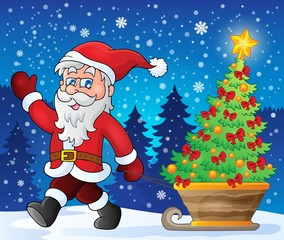 Santa Claus walk theme 2