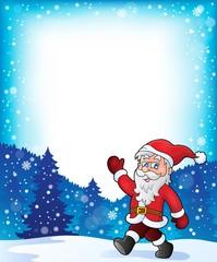 Santa Claus walk theme 3