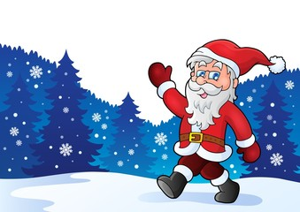 Santa Claus walk theme 4