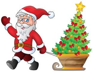 Santa Claus walk theme 5