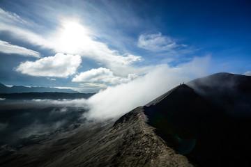 Walk on Volcano crater