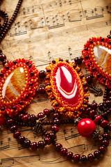 Beautiful handmade necklace
