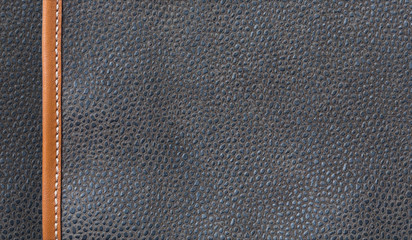black leather texture or surface background