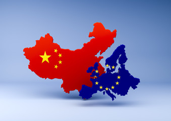 China - EU - blue