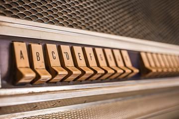 Push button juke box