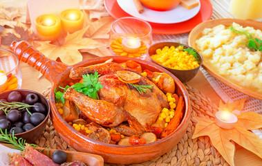 Oven roasted Thanksgiving Turkey