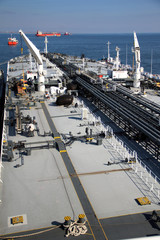 pipelines supertanker