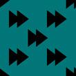 multimedia control web icon. flat design. Seamless pattern.