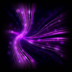 Abstract purple glowing light background