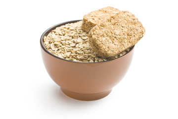 wholemeal crackers with oatmeal