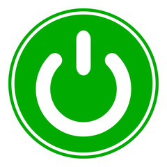 Power symbol button