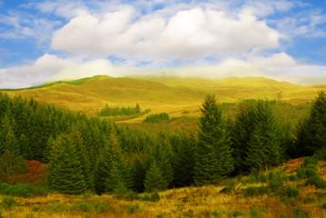 Autumn in Scottish Highlands