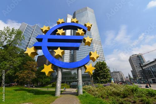 Zdjęcia na płótnie, fototapety, obrazy : EZB, Europäische Zentralbank, European Central Bank, Frankfurt