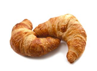 duo de croissants viennoiserie