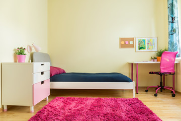 Cute room for schoolgirl