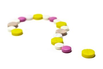 Farmaci. Punto interrogativo