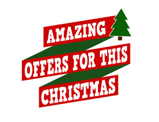 Amazing offers for this Christmas banner design