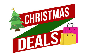 Christmas deals banner design
