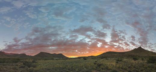 Sunrise at Karoo NP