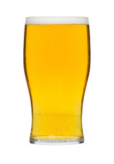 glass of lager