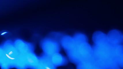 Deep dark blue motion background