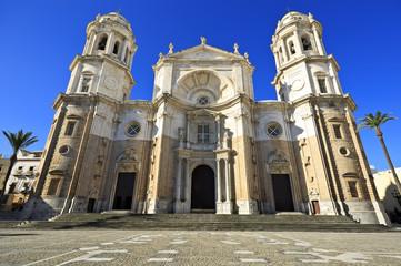 New Cathedral or Catedral de Santa Cruz on Cadiz