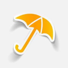 realistic design element: umbrella