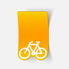 realistic design element: bicycle